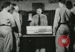 Image of Instructor demonstrating models of rifles Quantico Virginia USA, 1942, second 44 stock footage video 65675022167