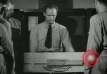 Image of Instructor demonstrating models of rifles Quantico Virginia USA, 1942, second 45 stock footage video 65675022167