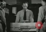 Image of Instructor demonstrating models of rifles Quantico Virginia USA, 1942, second 46 stock footage video 65675022167