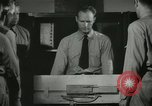 Image of Instructor demonstrating models of rifles Quantico Virginia USA, 1942, second 47 stock footage video 65675022167
