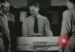 Image of Instructor demonstrating models of rifles Quantico Virginia USA, 1942, second 48 stock footage video 65675022167