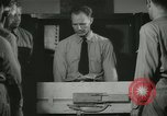 Image of Instructor demonstrating models of rifles Quantico Virginia USA, 1942, second 49 stock footage video 65675022167