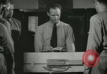 Image of Instructor demonstrating models of rifles Quantico Virginia USA, 1942, second 50 stock footage video 65675022167