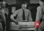 Image of Instructor demonstrating models of rifles Quantico Virginia USA, 1942, second 52 stock footage video 65675022167