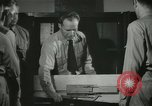 Image of Instructor demonstrating models of rifles Quantico Virginia USA, 1942, second 53 stock footage video 65675022167