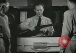 Image of Instructor demonstrating models of rifles Quantico Virginia USA, 1942, second 54 stock footage video 65675022167