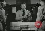 Image of Instructor demonstrating models of rifles Quantico Virginia USA, 1942, second 55 stock footage video 65675022167