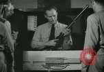 Image of Instructor demonstrating models of rifles Quantico Virginia USA, 1942, second 56 stock footage video 65675022167