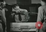 Image of Instructor demonstrating models of rifles Quantico Virginia USA, 1942, second 57 stock footage video 65675022167