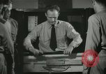 Image of Instructor demonstrating models of rifles Quantico Virginia USA, 1942, second 59 stock footage video 65675022167