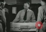 Image of Instructor demonstrating models of rifles Quantico Virginia USA, 1942, second 62 stock footage video 65675022167