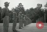 Image of Students going through a pistol drill Quantico Virginia USA, 1942, second 10 stock footage video 65675022168