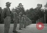 Image of Students going through a pistol drill Quantico Virginia USA, 1942, second 12 stock footage video 65675022168
