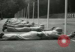 Image of Students going through a pistol drill Quantico Virginia USA, 1942, second 17 stock footage video 65675022168