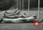 Image of Students going through a pistol drill Quantico Virginia USA, 1942, second 20 stock footage video 65675022168