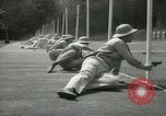 Image of Students going through a pistol drill Quantico Virginia USA, 1942, second 21 stock footage video 65675022168