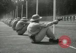 Image of Students going through a pistol drill Quantico Virginia USA, 1942, second 23 stock footage video 65675022168