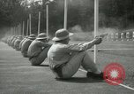 Image of Students going through a pistol drill Quantico Virginia USA, 1942, second 24 stock footage video 65675022168