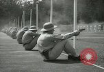Image of Students going through a pistol drill Quantico Virginia USA, 1942, second 25 stock footage video 65675022168