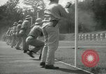 Image of Students going through a pistol drill Quantico Virginia USA, 1942, second 28 stock footage video 65675022168