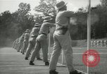 Image of Students going through a pistol drill Quantico Virginia USA, 1942, second 31 stock footage video 65675022168