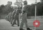 Image of Students going through a pistol drill Quantico Virginia USA, 1942, second 34 stock footage video 65675022168
