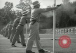 Image of Students going through a pistol drill Quantico Virginia USA, 1942, second 36 stock footage video 65675022168