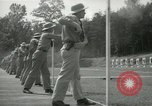 Image of Students going through a pistol drill Quantico Virginia USA, 1942, second 37 stock footage video 65675022168