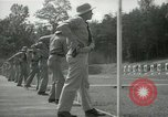 Image of Students going through a pistol drill Quantico Virginia USA, 1942, second 38 stock footage video 65675022168