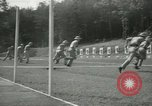 Image of Students going through a pistol drill Quantico Virginia USA, 1942, second 41 stock footage video 65675022168