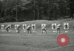 Image of Students going through a pistol drill Quantico Virginia USA, 1942, second 44 stock footage video 65675022168