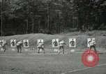 Image of Students going through a pistol drill Quantico Virginia USA, 1942, second 45 stock footage video 65675022168