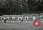 Image of Students going through a pistol drill Quantico Virginia USA, 1942, second 46 stock footage video 65675022168