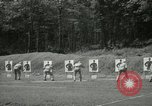 Image of Students going through a pistol drill Quantico Virginia USA, 1942, second 47 stock footage video 65675022168