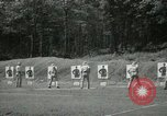 Image of Students going through a pistol drill Quantico Virginia USA, 1942, second 49 stock footage video 65675022168