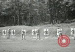 Image of Students going through a pistol drill Quantico Virginia USA, 1942, second 50 stock footage video 65675022168