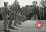 Image of Students going through a pistol drill Quantico Virginia USA, 1942, second 51 stock footage video 65675022168