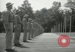 Image of Students going through a pistol drill Quantico Virginia USA, 1942, second 52 stock footage video 65675022168