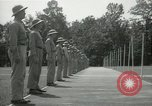 Image of Students going through a pistol drill Quantico Virginia USA, 1942, second 53 stock footage video 65675022168