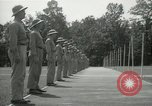Image of Students going through a pistol drill Quantico Virginia USA, 1942, second 54 stock footage video 65675022168