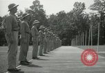 Image of Students going through a pistol drill Quantico Virginia USA, 1942, second 56 stock footage video 65675022168