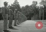 Image of Students going through a pistol drill Quantico Virginia USA, 1942, second 57 stock footage video 65675022168