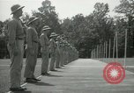 Image of Students going through a pistol drill Quantico Virginia USA, 1942, second 58 stock footage video 65675022168