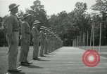 Image of Students going through a pistol drill Quantico Virginia USA, 1942, second 59 stock footage video 65675022168