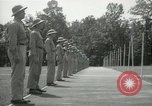 Image of Students going through a pistol drill Quantico Virginia USA, 1942, second 61 stock footage video 65675022168