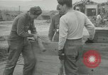 Image of US troops in makeshift shelters during Korean War South Korea, 1951, second 24 stock footage video 65675022170