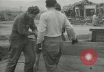 Image of US troops in makeshift shelters during Korean War South Korea, 1951, second 25 stock footage video 65675022170