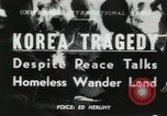 Image of Korean refugees Korea, 1951, second 1 stock footage video 65675022180