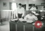 Image of Administrative activities at MAAG building Baghdad Iraq, 1956, second 7 stock footage video 65675022188