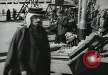 Image of Oil drilling rig Iraq, 1945, second 51 stock footage video 65675022193